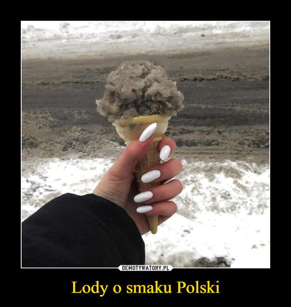 Lody o smaku Polski –