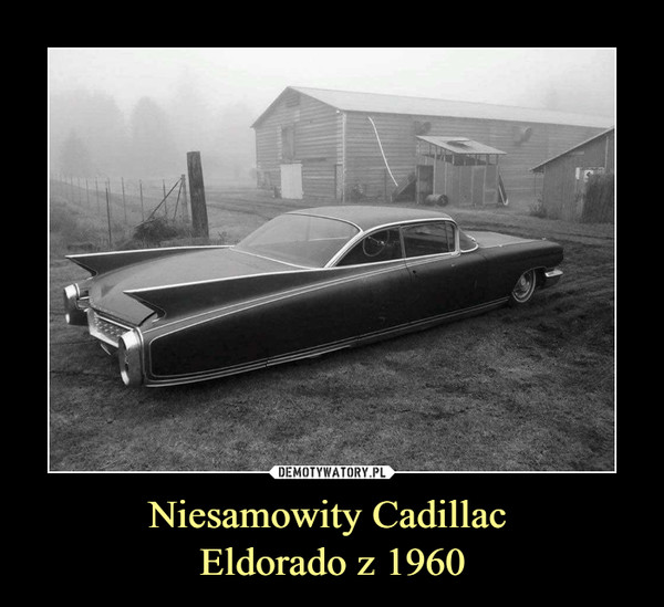 Niesamowity Cadillac Eldorado z 1960 –