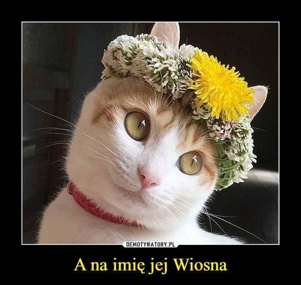 A na imię jej Wiosna –