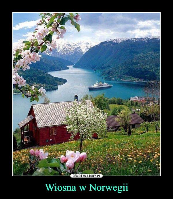 Wiosna w Norwegii –
