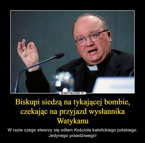 Biskupi siedzą na tykającej bombie, czekając na przyjazd wysłannika Watykanu