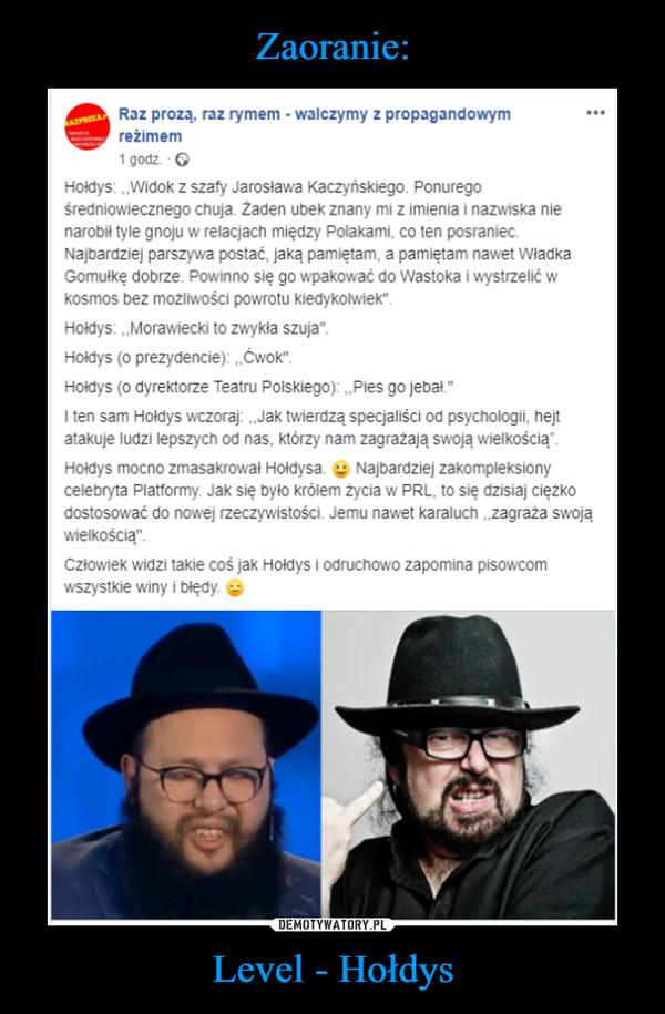 Level - Hołdys –