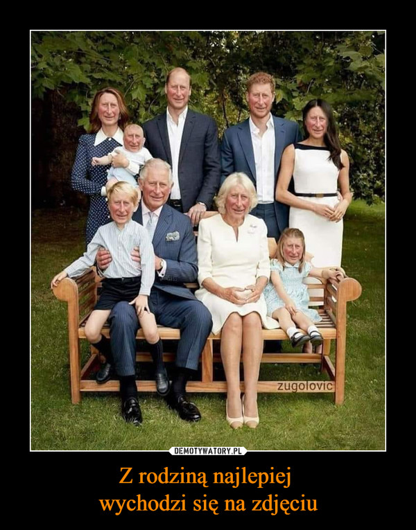 Z rodziną najlepiej wychodzi się na zdjęciu –