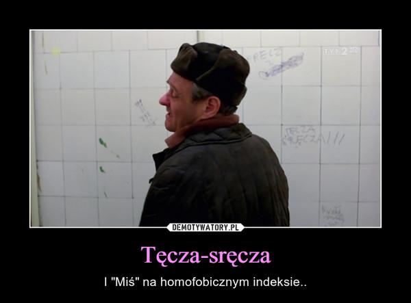 """Tęcza-sręcza – I """"Miś"""" na homofobicznym indeksie.."""