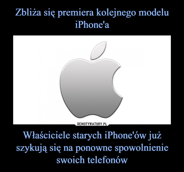 Właściciele starych iPhone'ów już szykują się na ponowne spowolnienie swoich telefonów –