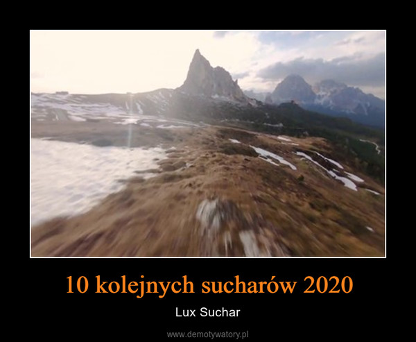 10 kolejnych sucharów 2020 – Lux Suchar