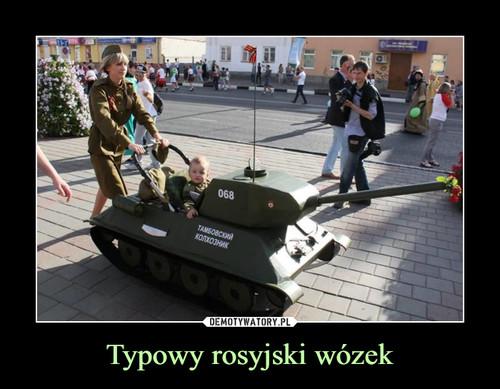 Typowy rosyjski wózek