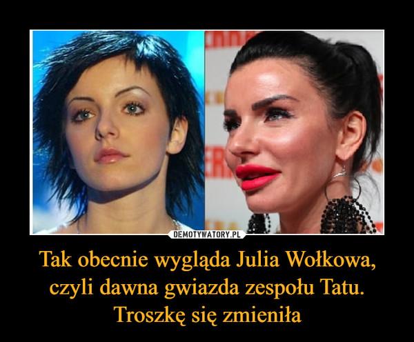 Tak obecnie wygląda Julia Wołkowa, czyli dawna gwiazda zespołu Tatu. Troszkę się zmieniła –