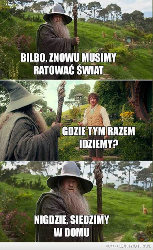 Grzeczna prośba od Gandalfa