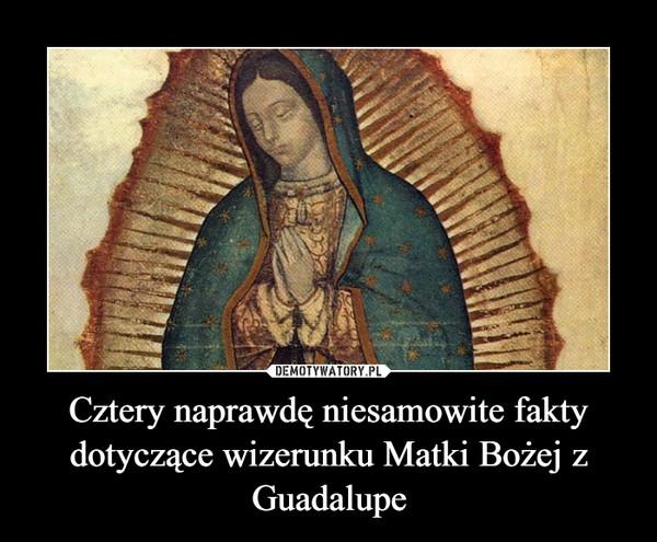 Cztery naprawdę niesamowite fakty dotyczące wizerunku Matki Bożej z Guadalupe –