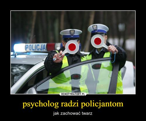 psycholog radzi policjantom