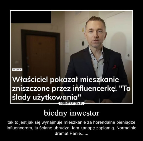 biedny inwestor