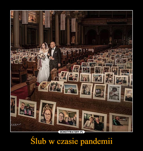 Ślub w czasie pandemii –