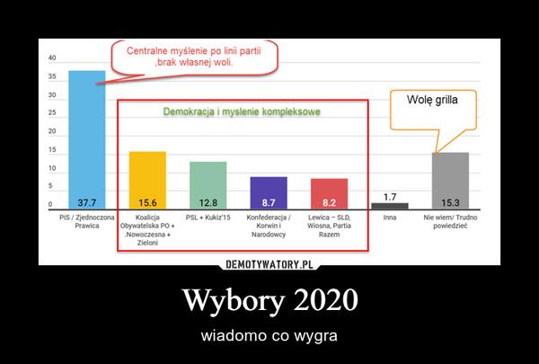 Wybory 2020 – wiadomo co wygra