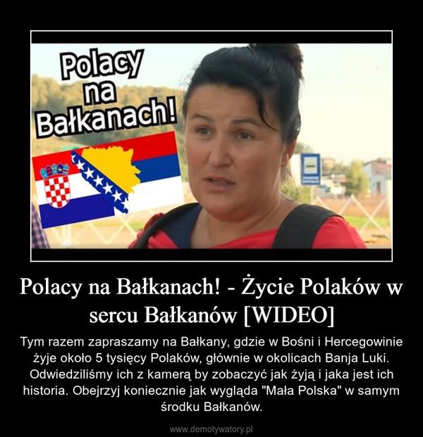 """Polacy na Bałkanach! - Życie Polaków w sercu Bałkanów [WIDEO] – Tym razem zapraszamy na Bałkany, gdzie w Bośni i Hercegowinie żyje około 5 tysięcy Polaków, głównie w okolicach Banja Luki. Odwiedziliśmy ich z kamerą by zobaczyć jak żyją i jaka jest ich historia. Obejrzyj koniecznie jak wygląda """"Mała Polska"""" w samym środku Bałkanów."""