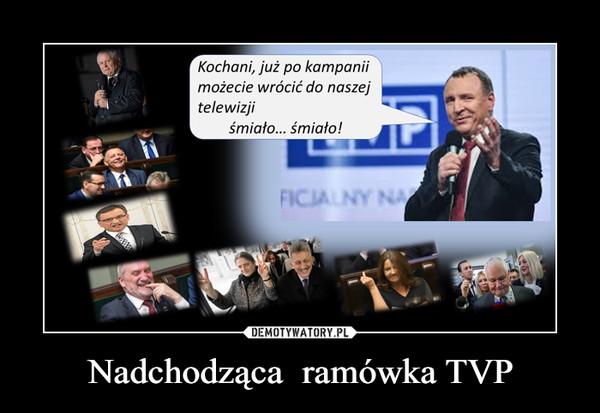 Nadchodząca  ramówka TVP –