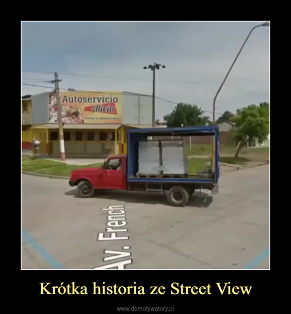 Krótka historia ze Street View –