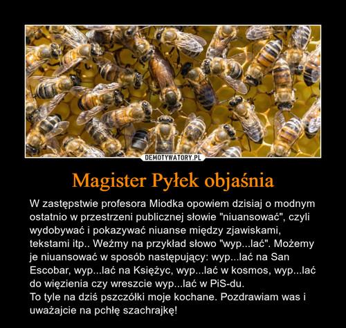 Magister Pyłek objaśnia