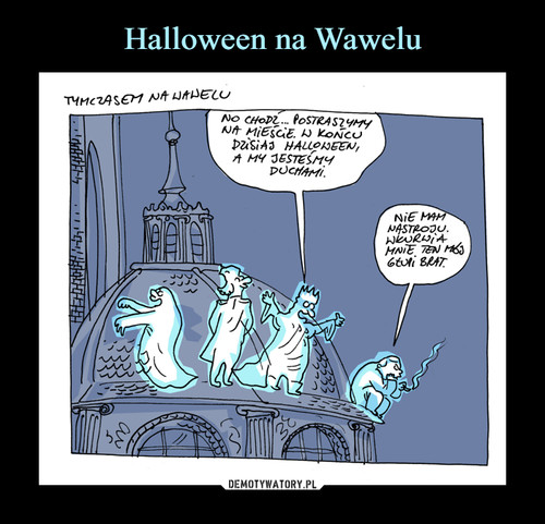 Halloween na Wawelu