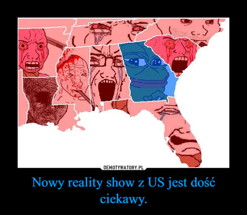 Nowy reality show z US jest dość ciekawy.