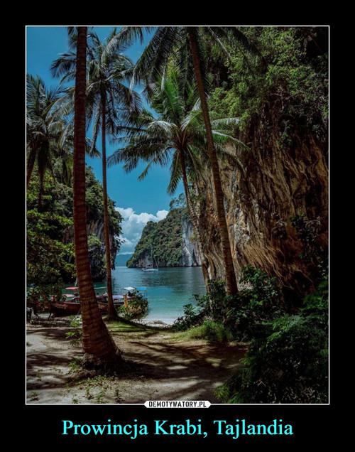 Prowincja Krabi, Tajlandia