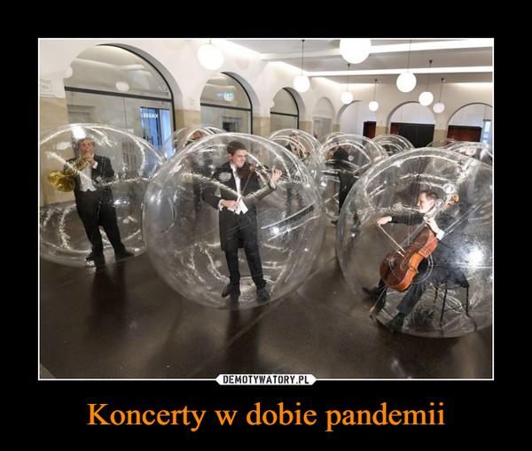 Koncerty w dobie pandemii –