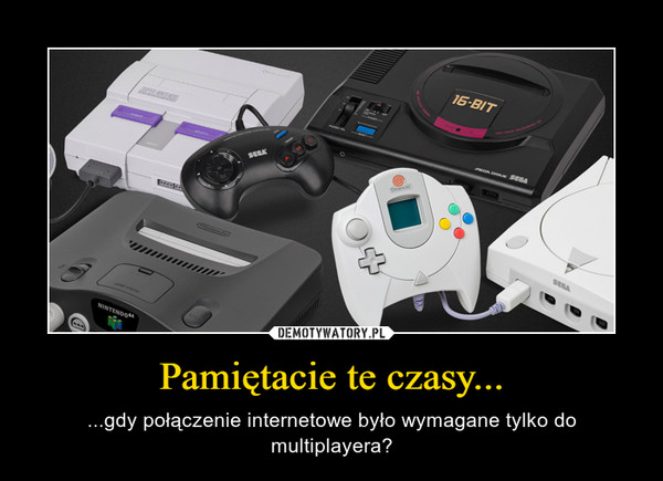 Pamiętacie te czasy... – ...gdy połączenie internetowe było wymagane tylko do multiplayera?