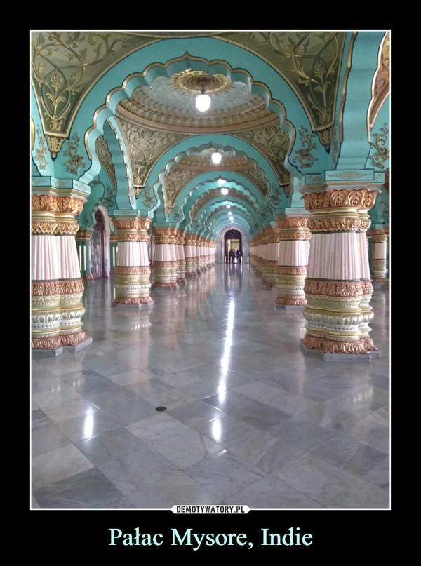 Pałac Mysore, Indie –
