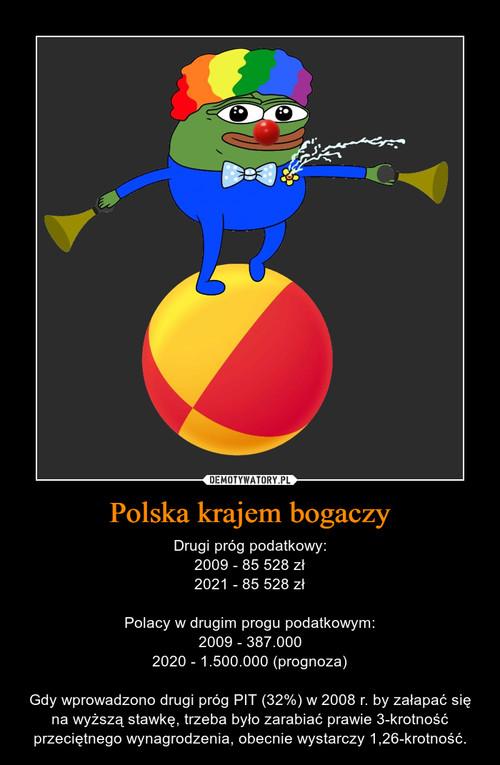 Polska krajem bogaczy