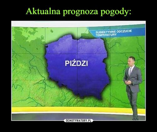Aktualna prognoza pogody: