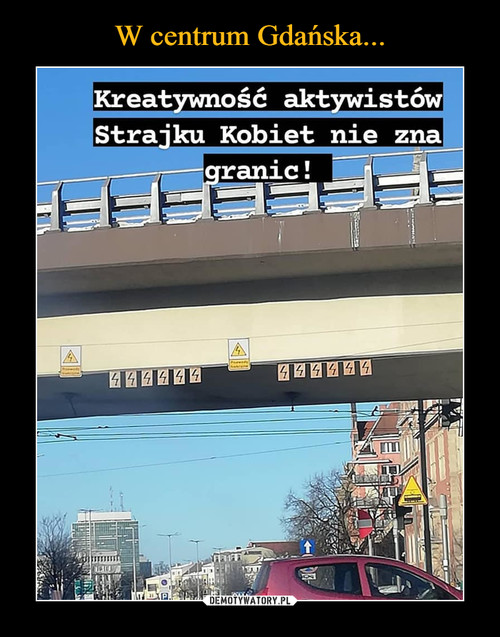 W centrum Gdańska...