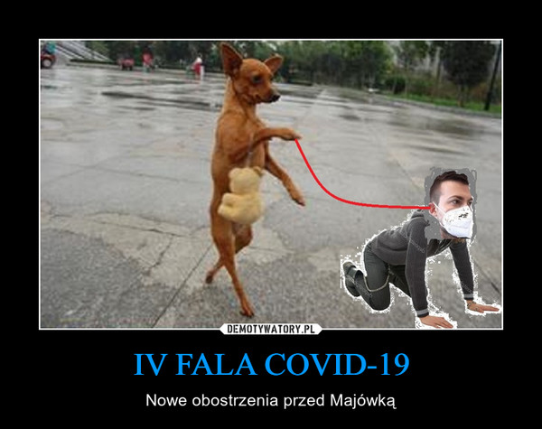 IV FALA COVID-19 – Nowe obostrzenia przed Majówką