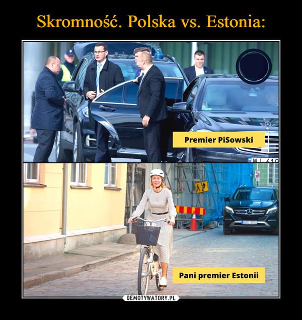Skromność. Polska vs. Estonia: