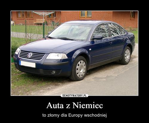 Auta z Niemiec