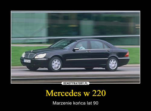 Mercedes w 220