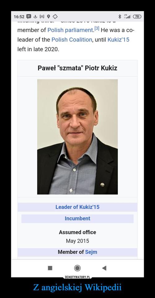 Z angielskiej Wikipedii