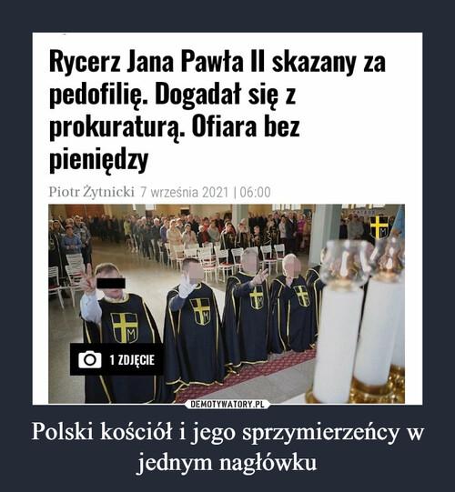 Polski kościół i jego sprzymierzeńcy w jednym nagłówku