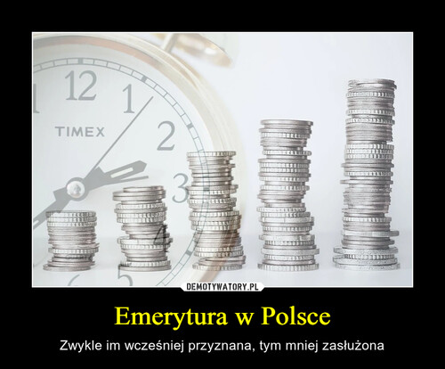 Emerytura w Polsce