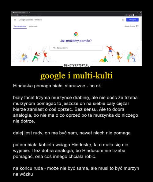google i multi-kulti